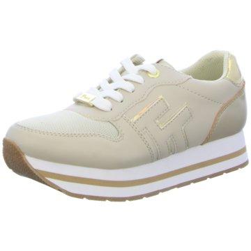 Tom Tailor Plateau Sneaker beige