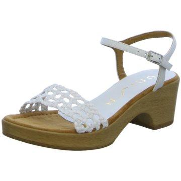 Unisa Sandalette weiß