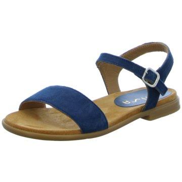 Unisa Offene Schuhe blau