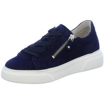 Gabor Top Trends Schnürschuhe blau