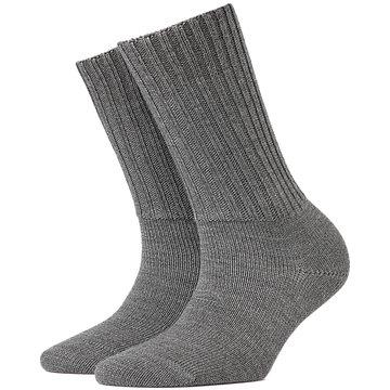 Burlington Hohe Socken grau