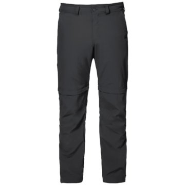 JACK WOLFSKIN OutdoorhosenCANYON ZIP OFF PANTS - 1504191 grau