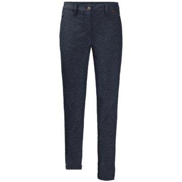 JACK WOLFSKIN OutdoorhosenWINTER TRAVEL PANTS WOMEN - 1505081-1910 blau