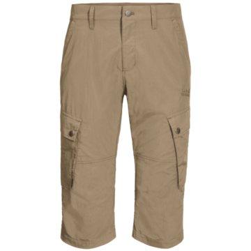 JACK WOLFSKIN 3/4 SporthosenDESERT VALLEY 3/4 PANTS M - 1505391 beige