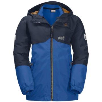 JACK WOLFSKIN FunktionsjackenB ICELAND 3IN1 JKT - 1605254-1202 blau