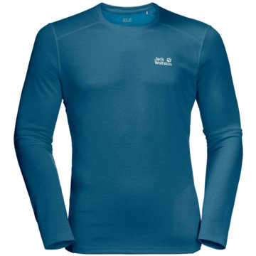 JACK WOLFSKIN LangarmshirtSKY RANGE LONGSLEEVE M - 1806752-1350 blau