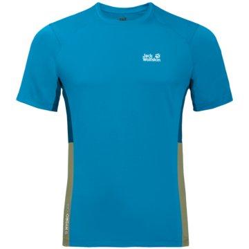 JACK WOLFSKIN T-ShirtsNARROWS T M - 1807351 blau