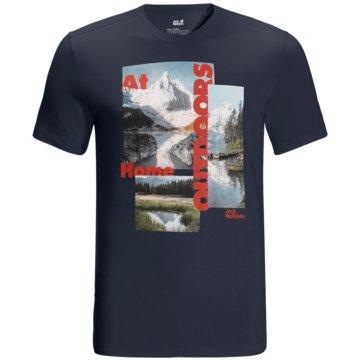 JACK WOLFSKIN T-ShirtsLAKE MORNING T M - 1807771 blau