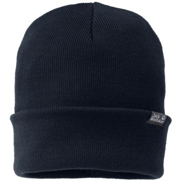 JACK WOLFSKIN MützenRIB HAT - 1903891-1010 blau