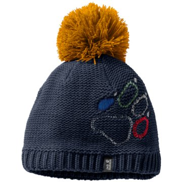 JACK WOLFSKIN MützenPAW KNIT CAP KIDS - 1906591-1033 blau