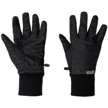 JACK WOLFSKIN FingerhandschuheWINTER TRAVEL GLOVE WOMEN - 1907881-6000 schwarz