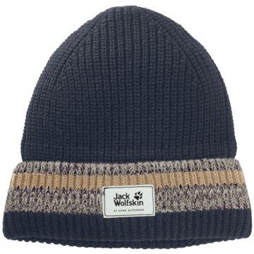 JACK WOLFSKIN MützenKNIT CAP - 1907991-1033 blau