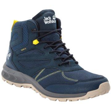 JACK WOLFSKIN Outdoor SchuhWOODLAND TEXAPORE MID M - 4039201-1184 blau
