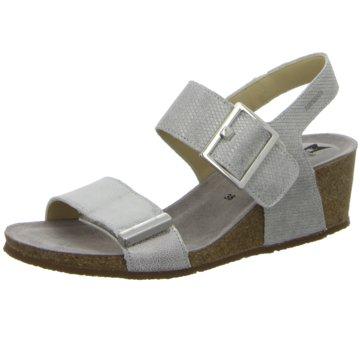Mephisto Komfort Sandale silber