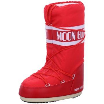 Moon Boot Winterstiefel rot