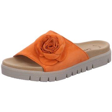 Gabor Klassische Pantolette orange