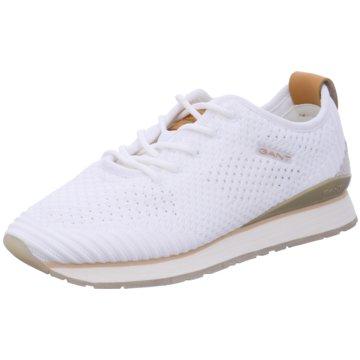 Gant Sportlicher Schnürschuh weiß