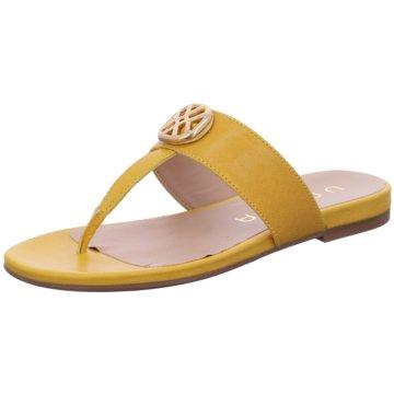 Unisa Pantolette gelb