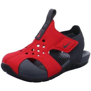 Nike SlipperBoys' Nike Sunray Protect 2 (TD) Sandal - 943827-603 rot