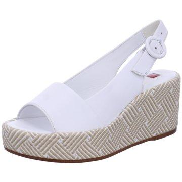 Högl SandaletteSlingback weiß