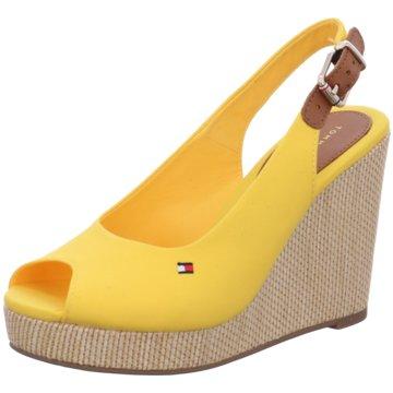 Tommy Hilfiger Sandalette gelb