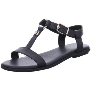 Tommy Hilfiger Sandale schwarz