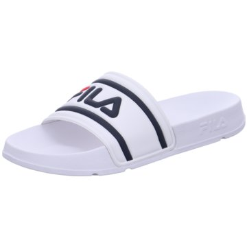 Fila BadelatscheMorro Bay Slipper 2.0 weiß