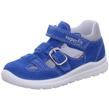 Superfit Offene SchuheMel blau