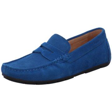 Digel Mokassin Slipper blau