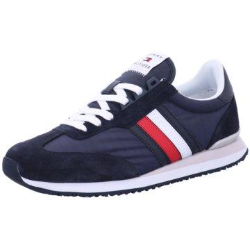 Tommy Hilfiger Sneaker LowLow Mix Runne blau