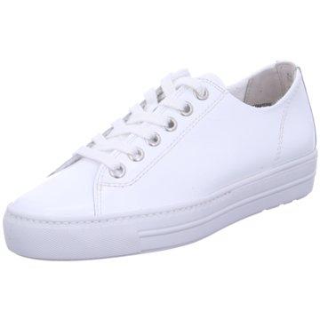 Paul Green Sportlicher SchnürschuhSneaker weiß