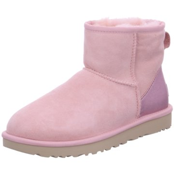 UGG Australia WinterbootClass. Mini II Metal rosa