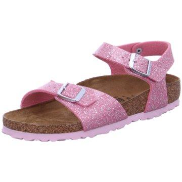 Birkenstock Offene SchuheRio Plain Kids pink