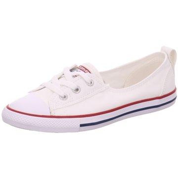 Converse Sneaker LowChuck Taylor All Star Ballet Lace Sneaker Damen Schuhe weiß weiß