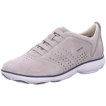 Geox Sportlicher Slipper grau