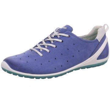 Ecco Sportlicher SchnürschuhBiom Lite blau