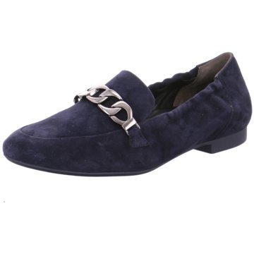 Paul Green Klassischer Slipper blau