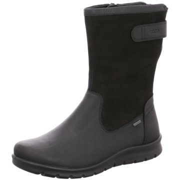 Ecco Komfort StiefelBarbett Boot schwarz