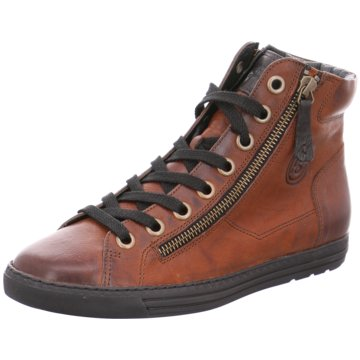 Paul Green Sneaker High braun