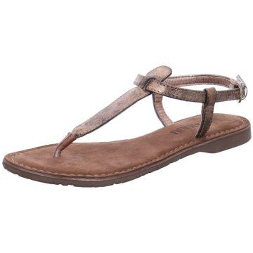Lazamani Top Trends Sandaletten beige
