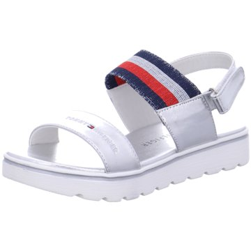 Tommy Hilfiger Offene Schuhe silber