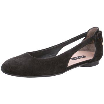 Paul Green Sling Ballerina schwarz