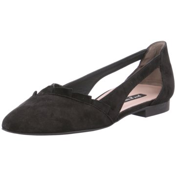 Paul Green Top Trends Ballerinas schwarz
