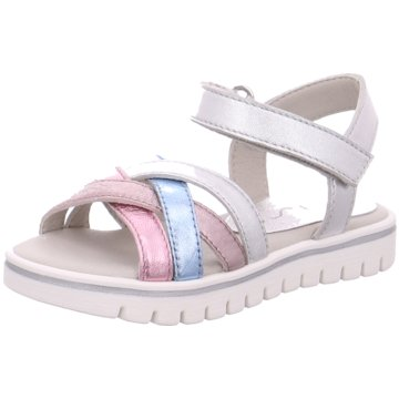 Unisa Offene Schuhe silber