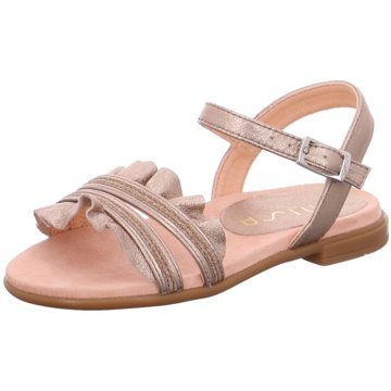 Unisa Offene Schuhe gold