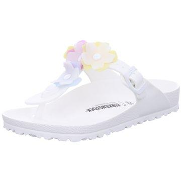 Birkenstock ZehentrennerGizeh Flower weiß