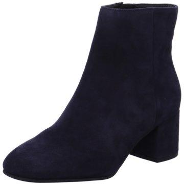 Högl Klassische Stiefelette blau