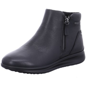 Ecco Komfort StiefeletteAquet schwarz