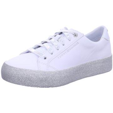 Tommy Hilfiger Plateau SneakerGlitter Dress Sneake weiß
