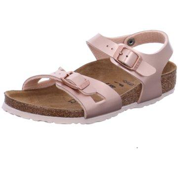 Birkenstock Offene Schuhe rot